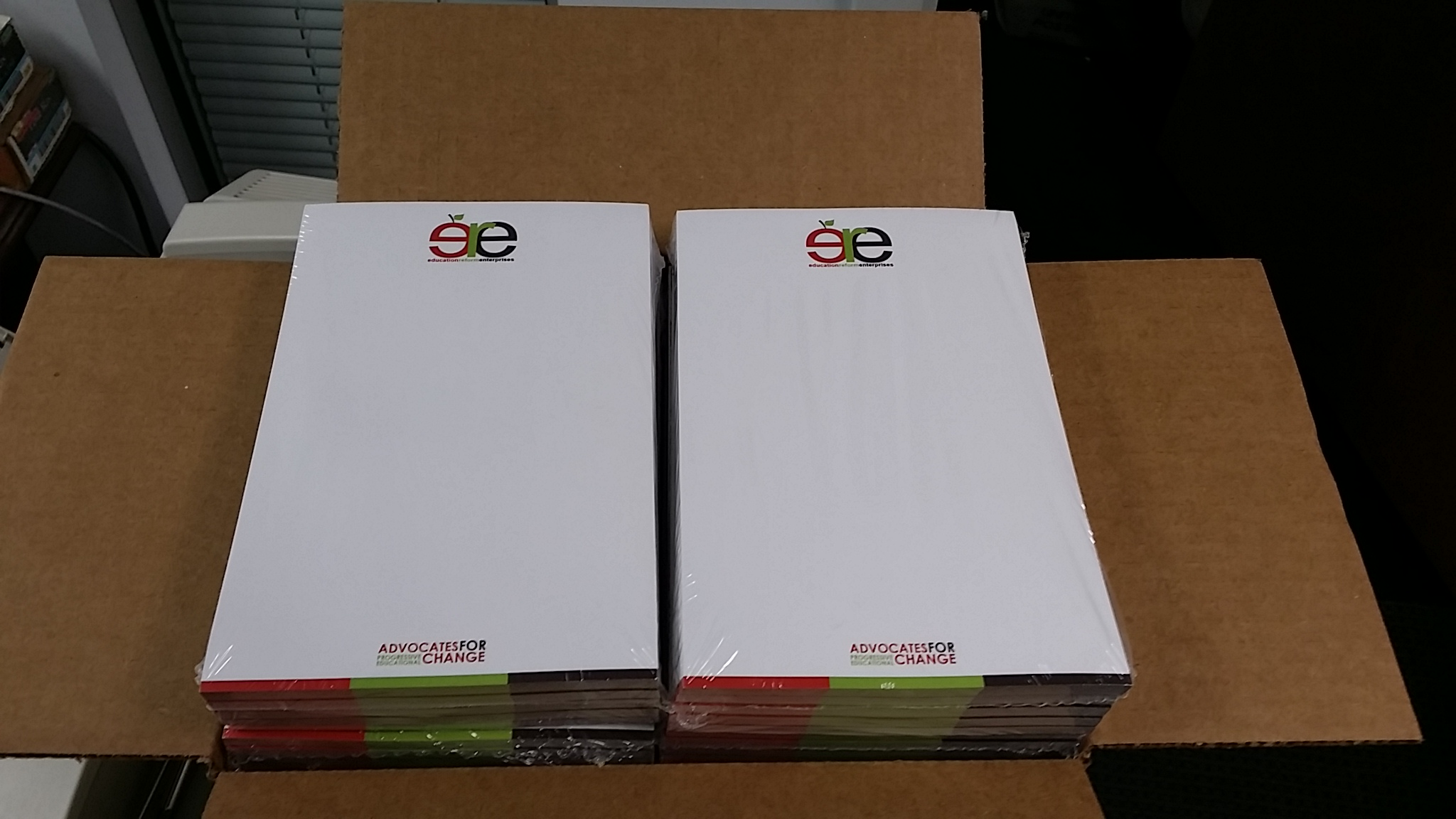Note Pads, printing, Logo, design, Low Cost Not Pads