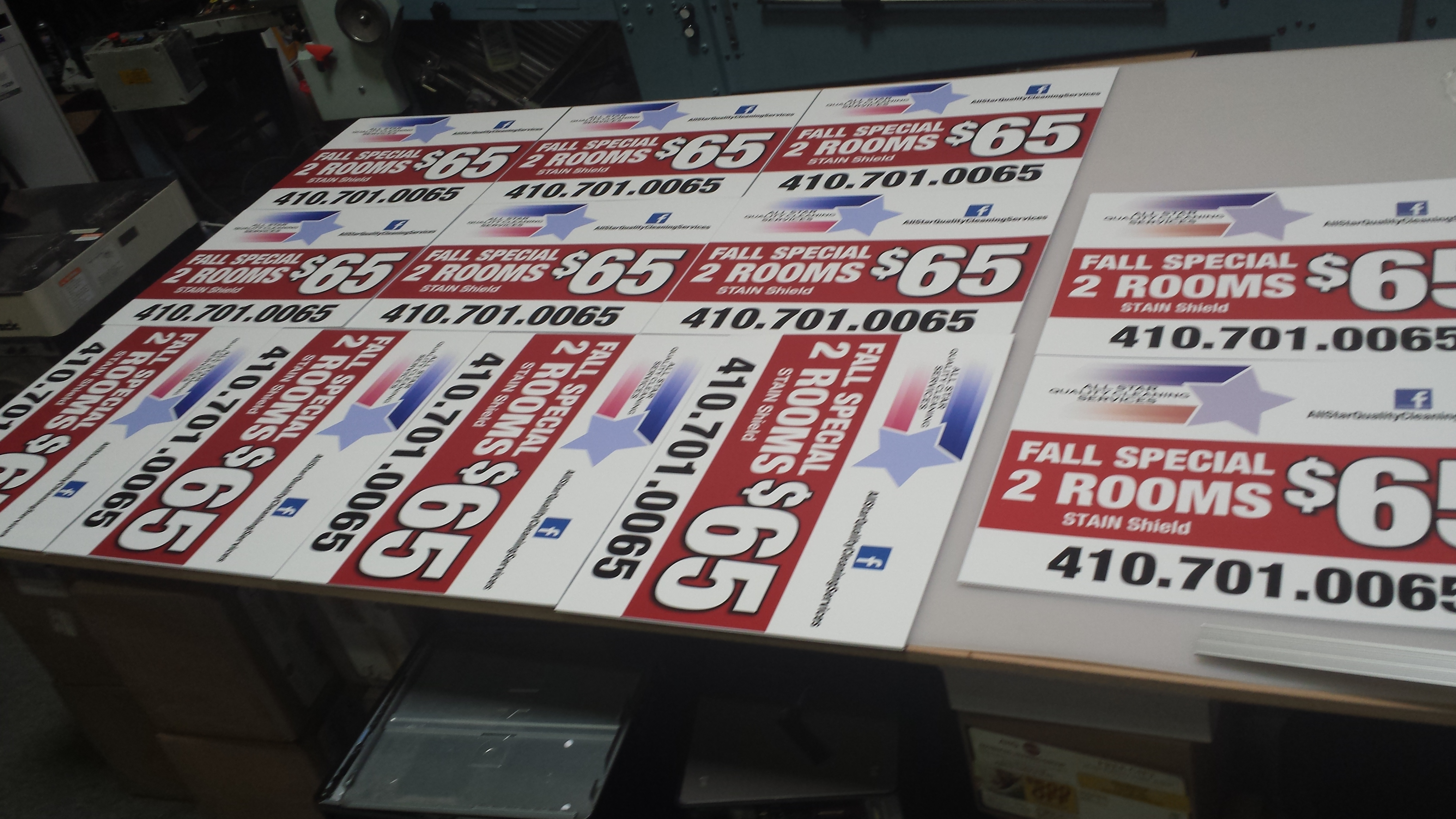 Stake Signs, Yard signs, Display Signs, Custom Design Signage