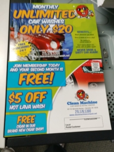 EDDM Every Door Direct Mail 6.5x9 16PT UV Coated